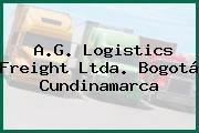 A.G. Logistics Freight Ltda. Bogotá Cundinamarca