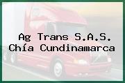 Ag Trans S.A.S. Chía Cundinamarca