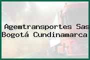 Agemtransportes Sas Bogotá Cundinamarca