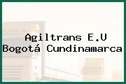 Agiltrans E.U Bogotá Cundinamarca