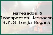 Agregados & Transportes Jesmacon S.A.S Tunja Boyacá