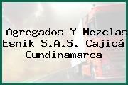 Agregados Y Mezclas Esnik S.A.S. Cajicá Cundinamarca