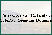 Agroavance Colombia S.A.S. Samacá Boyacá