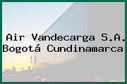 Air Vandecarga S.A. Bogotá Cundinamarca