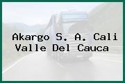 Akargo S. A. Cali Valle Del Cauca