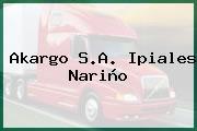 Akargo S.A. Ipiales Nariño
