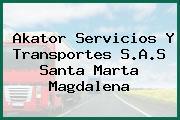 Akator Servicios Y Transportes S.A.S Santa Marta Magdalena