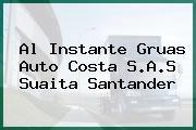 AL INSTANTE GRUAS AUTO COSTA S.A.S Suaita Santander