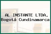 AL INSTANTE LTDA. Bogotá Cundinamarca
