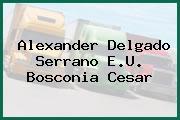 Alexander Delgado Serrano E.U. Bosconia Cesar
