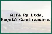 Alfa Rg Ltda. Bogotá Cundinamarca