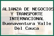 ALIANZA DE NEGOCIOS Y TRANSPORTE INTERNACIONAL Buenaventura Valle Del Cauca