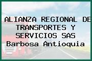 ALIANZA REGIONAL DE TRANSPORTES Y SERVICIOS SAS Barbosa Antioquia