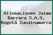 Alineaciones Jaime Barrera S.A.S. Bogotá Cundinamarca