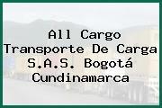 All Cargo Transporte De Carga S.A.S. Bogotá Cundinamarca
