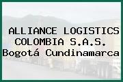 ALLIANCE LOGISTICS COLOMBIA S.A.S. Bogotá Cundinamarca