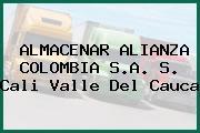 ALMACENAR ALIANZA COLOMBIA S.A. S. Cali Valle Del Cauca