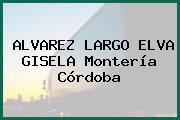 ALVAREZ LARGO ELVA GISELA Montería Córdoba
