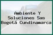 Ambiente Y Soluciones Sas Bogotá Cundinamarca