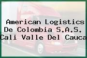 American Logistics De Colombia S.A.S. Cali Valle Del Cauca