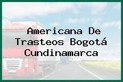 Americana De Trasteos Bogotá Cundinamarca