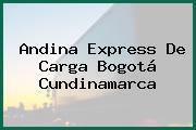 Andina Express De Carga Bogotá Cundinamarca