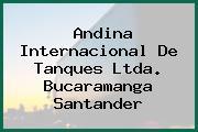 Andina Internacional De Tanques Ltda. Bucaramanga Santander