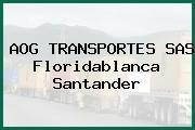 AOG TRANSPORTES SAS Floridablanca Santander