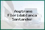 Aogtrans Floridablanca Santander