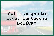 Apl Transportes Ltda. Cartagena Bolívar