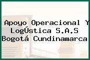 Apoyo Operacional Y LogÚstica S.A.S Bogotá Cundinamarca