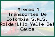 Arenas Y Transportes De Colombia S.A.S. Roldanillo Valle Del Cauca
