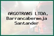 ARGOTRANS LTDA. Barrancabermeja Santander