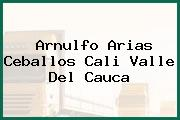 Arnulfo Arias Ceballos Cali Valle Del Cauca