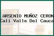 ARSENIO MUÑOZ CERON Cali Valle Del Cauca