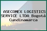 ASECOMEX LOGISTICS SERVICE LTDA Bogotá Cundinamarca