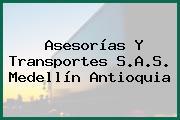 Asesorías Y Transportes S.A.S. Medellín Antioquia