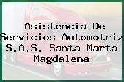 Asistencia De Servicios Automotriz S.A.S. Santa Marta Magdalena