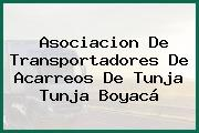 Asociacion De Transportadores De Acarreos De Tunja Tunja Boyacá