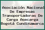 Asociación Nacional De Empresas Transportadoras De Carga Asecarga Bogotá Cundinamarca