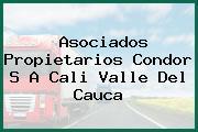 Asociados Propietarios Condor S A Cali Valle Del Cauca