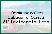 Asominerales Cabuyaro S.A.S Villavicencio Meta