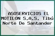 ASOSERVICIOS EL MOTILON S.A.S. Tibú Norte De Santander