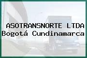 Asotransnorte Ltda Bogotá Cundinamarca