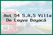 Ast 54 S.A.S Villa De Leyva Boyacá