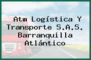 Atm Logística Y Transporte S.A.S. Barranquilla Atlántico