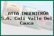 ATTA INGENIERÚA S.A. Cali Valle Del Cauca