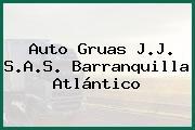 Auto Gruas J.J. S.A.S. Barranquilla Atlántico