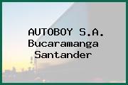 AUTOBOY S.A. Bucaramanga Santander