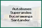 Autobuses Superandes Bucaramanga Santander